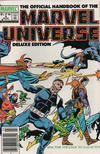 Cover for The Official Handbook of the Marvel Universe (Marvel, 1985 series) #4 [Canadian Newsstand]