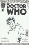 Cover for Doctor Who Event 2015: The Four Doctors (Titan, 2015 series) #1 [Blank Sketch Cover]