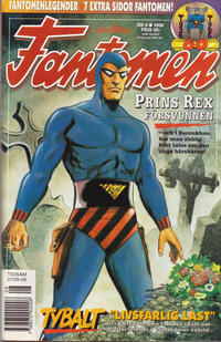 Cover Thumbnail for Fantomen (Semic, 1963 series) #8/1996