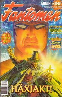 Cover Thumbnail for Fantomen (Egmont, 1997 series) #1/2002