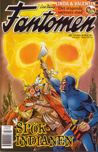 Cover Thumbnail for Fantomen (Egmont, 1997 series) #7/2003