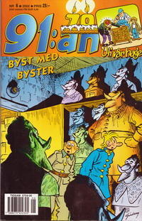 Cover Thumbnail for 91:an (Egmont, 1997 series) #6/2002
