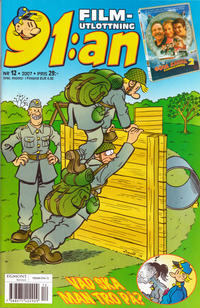 Cover Thumbnail for 91:an (Egmont, 1997 series) #12/2007