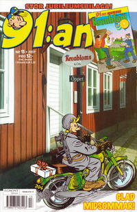 Cover Thumbnail for 91:an (Egmont, 1997 series) #13/2007