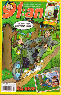 Cover Thumbnail for 91:an (Egmont, 1997 series) #23/2007