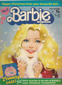 Cover Thumbnail for Barbie (Fleetway Publications, 1985 series) #4