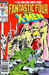 Cover Thumbnail for Fantastic Four vs. X-Men (1987 series) #4 [Newsstand Edition]