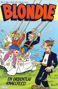 Cover Thumbnail for Blondie (Semic, 1980 series) #5/1988