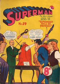 Cover Thumbnail for Superman (K. G. Murray, 1947 series) #59