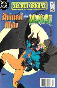 Cover for Secret Origins (DC, 1986 series) #39 [Direct Edition]