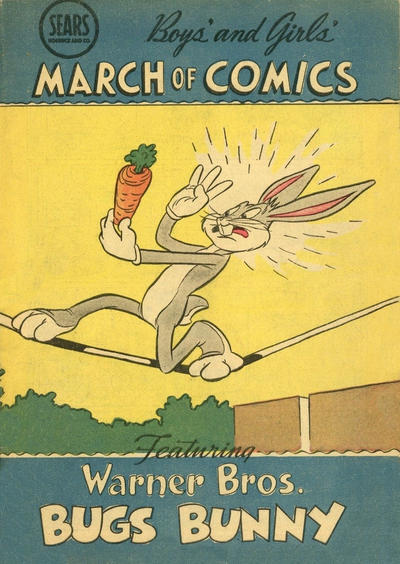 Cover for March of Comics (Western, 1946 series) #59 [Standard Edition]