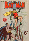 Cover for Batman Comics (K. G. Murray, 1950 series) #4