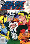 Cover for Blue Devil (DC, 1984 series) #16 [Newsstand]
