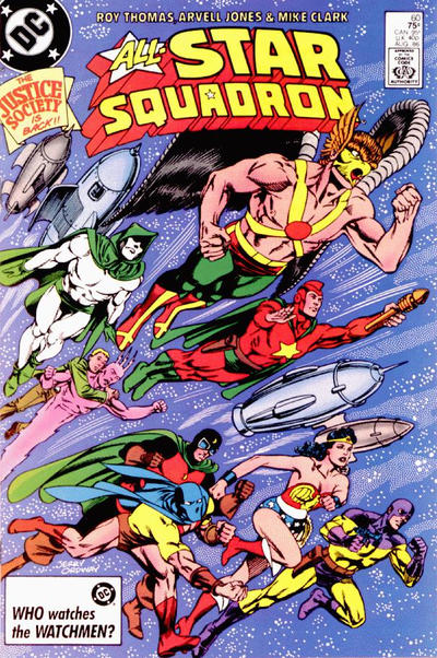 Cover for All-Star Squadron (DC, 1981 series) #60