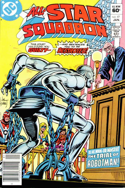 Cover for All-Star Squadron (DC, 1981 series) #17