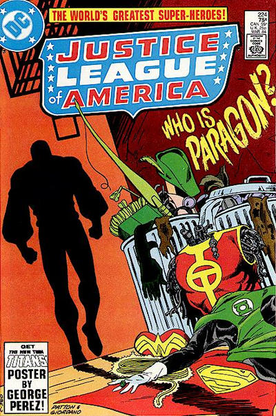 Cover for Justice League of America (DC, 1960 series) #224 [direct-sales]