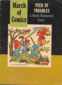 Cover Thumbnail for March of Comics (Western, 1946 series) #222 [Blank Cover Variant]