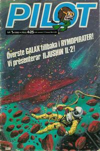 Cover Thumbnail for Pilot (Semic, 1970 series) #1/1980