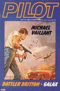 Cover Thumbnail for Pilot (Semic, 1970 series) #1/1982