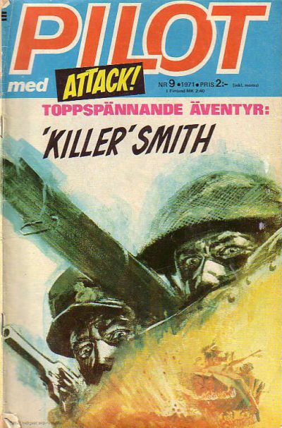 Cover for Pilot (1970 series) #9/1971