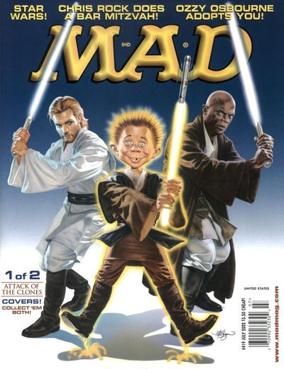 Cover for MAD (EC, 1952 series) #419