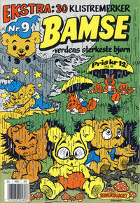 Cover Thumbnail for Bamse (Hjemmet, 1991 series) #9/1991