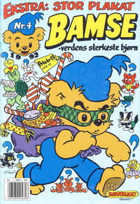 Cover Thumbnail for Bamse (Hjemmet, 1991 series) #4/1992