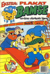 Cover Thumbnail for Bamse (Hjemmet, 1991 series) #9/1992