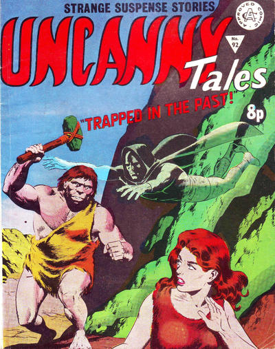 Cover for Uncanny Tales (Alan Class, 1963 series) #92 [6 Pence Variant]