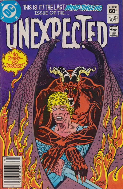 Cover for The Unexpected (DC, 1968 series) #222
