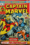 Cover for Captain Marvel (Marvel, 1968 series) #30 [British Price Variant]