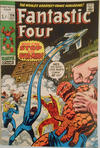 Cover for Fantastic Four (Marvel, 1961 series) #114 [British Price Variant]