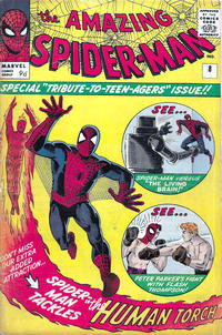 Cover for The Amazing Spider-Man (Marvel, 1963 series) #8 [Regular Edition]