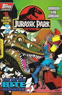 Cover Thumbnail for Jurassic Park (Topps, 1993 series) #0