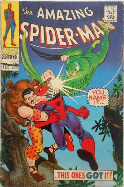 Cover for The Amazing Spider-Man (Marvel, 1963 series) #49 [Regular Edition]