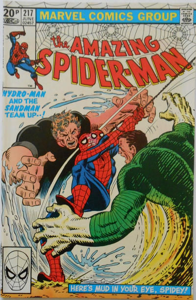 Cover for The Amazing Spider-Man (Marvel, 1963 series) #217 [Direct Edition]