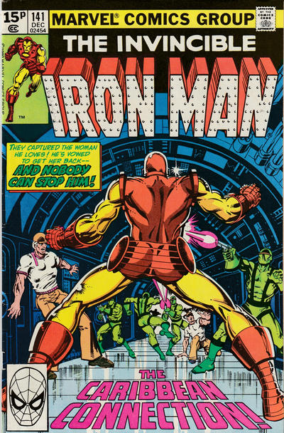 Cover for Iron Man (Marvel, 1968 series) #141 [Direct Edition]