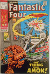 Cover for Fantastic Four (Marvel, 1961 series) #111 [British Price Variant]