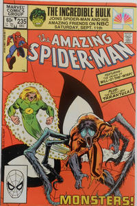 Cover Thumbnail for The Amazing Spider-Man (Marvel, 1963 series) #235 [Direct Edition]