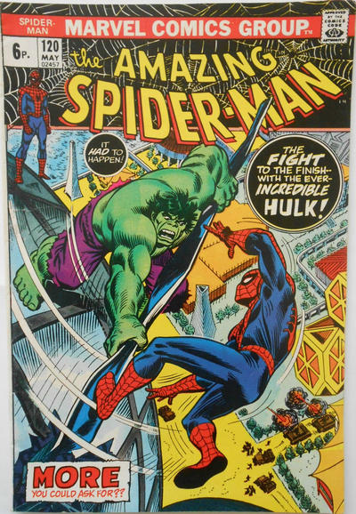 Cover for The Amazing Spider-Man (Marvel, 1963 series) #120 [Regular Edition]