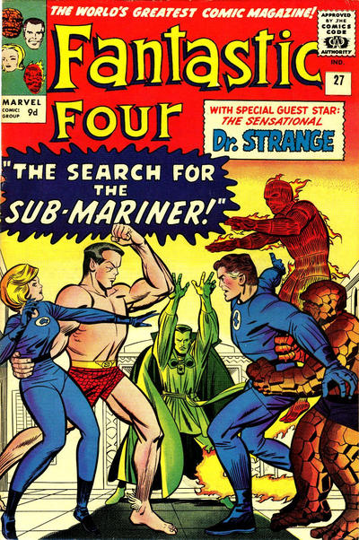Cover for Fantastic Four (Marvel, 1961 series) #27 [Regular Edition]