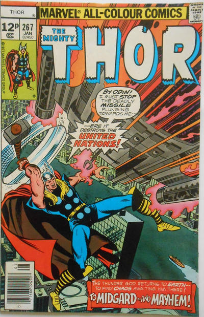 Cover for Thor (Marvel, 1966 series) #267 [Regular Edition]