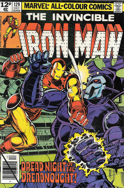 Cover for Iron Man (Marvel, 1968 series) #129 [Newsstand Edition]