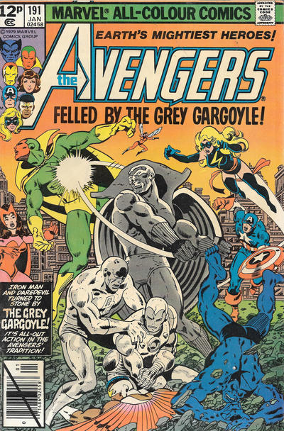 Cover for The Avengers (Marvel, 1963 series) #191 [Newsstand Edition]