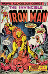 Cover Thumbnail for Iron Man (1968 series) #73 [British Price Variant]