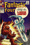 Cover for Fantastic Four (Marvel, 1961 series) #55 [British Price Variant]