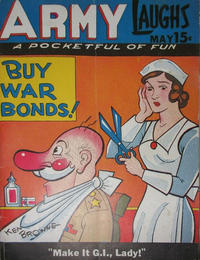 Cover Thumbnail for Army Laughs (Prize, 1941 series) #v5#2