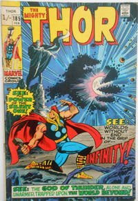 Cover for Thor (Marvel, 1966 series) #185 [Regular Edition]