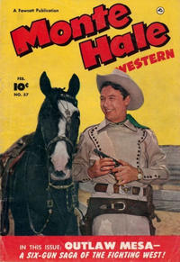 Cover Thumbnail for Monte Hale Western (Fawcett, 1948 series) #57