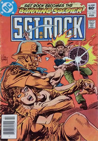 Cover Thumbnail for Sgt. Rock (DC, 1977 series) #373 [Newsstand]